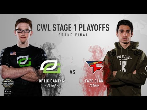 OpTic Gaming vs. FaZe Clan | Grand Finals | CWL Pro League Stage 1 Playoffs 2018