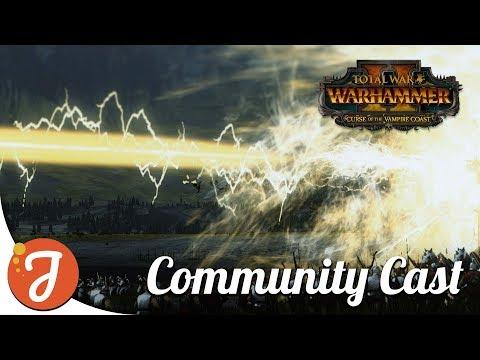 MAGIC LASER TIME feat. Sarmatian | Empire Vs Dark Elves | Total War: WARHAMMER II |