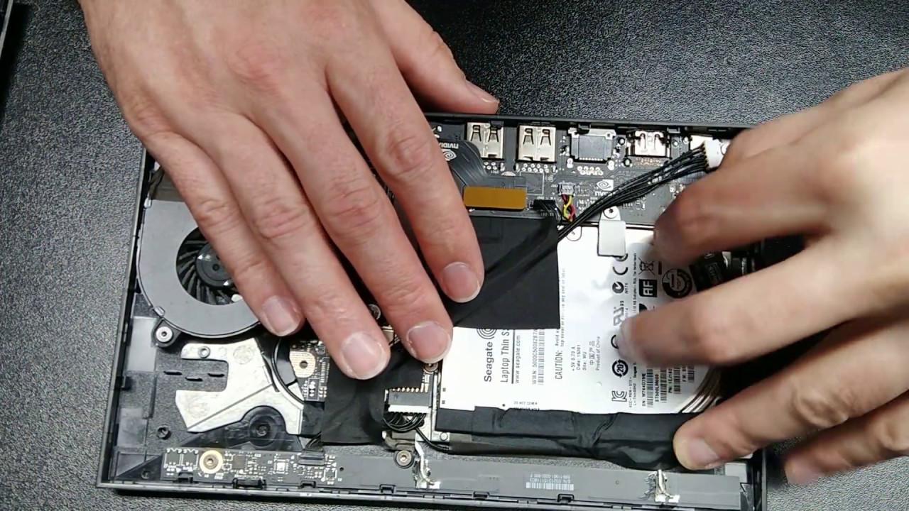 Nvidia Shield TV SSD swap