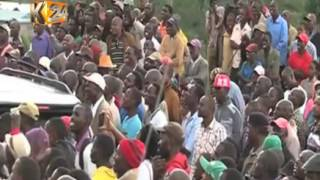 President Kenyatta calls on the Bomet residents to support the Jubilee Government