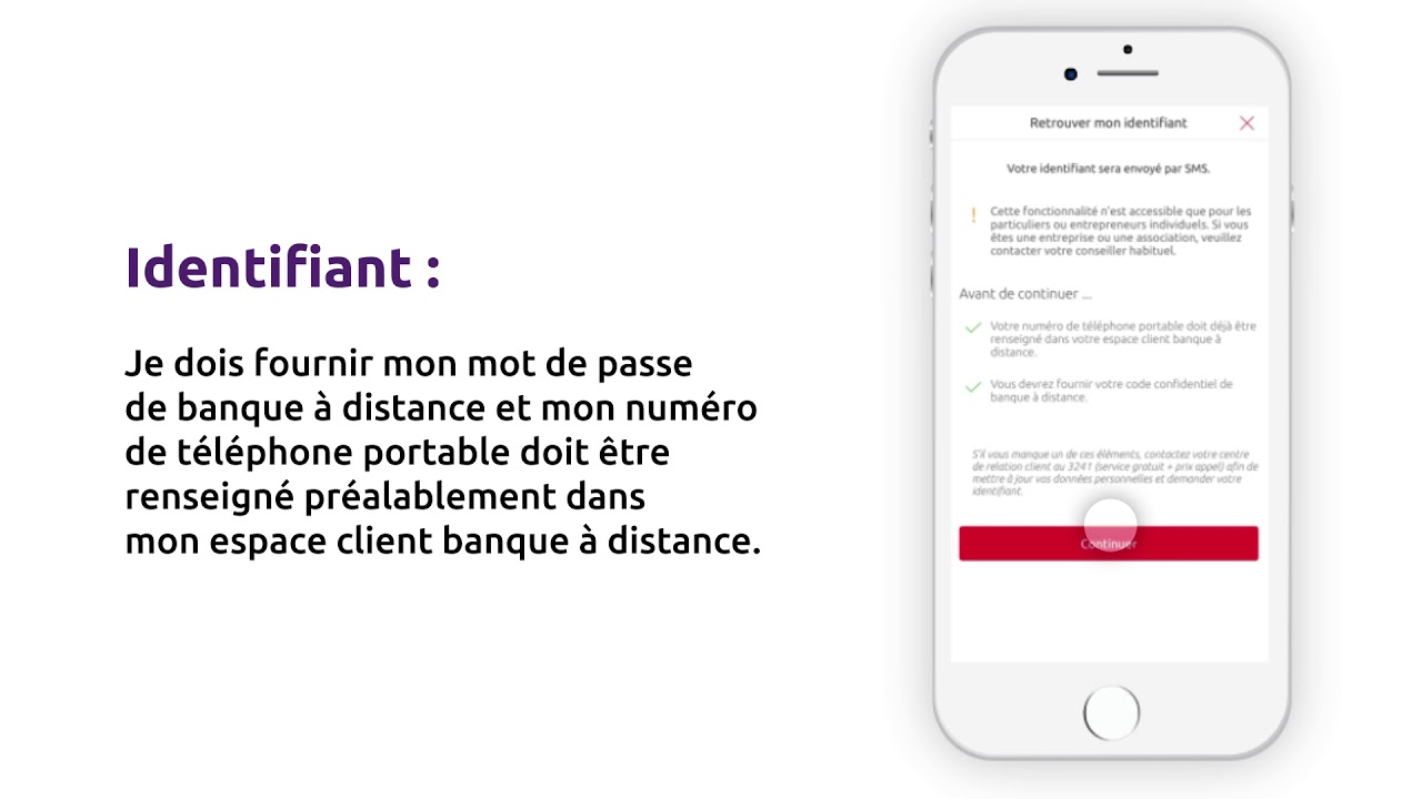Application Caisse D Epargne Tuto Identifiant Oublie Youtube