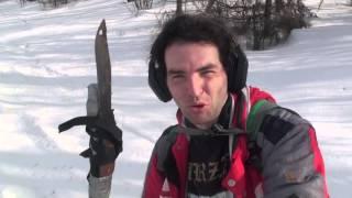 Тест-драйв велосипеда MERIDA TFS-500D зимой на снежном бездорожье(Тест-драйв подготовленного горного велосипеда MERIDA TFS-500D на лыжной трассе ст. Некрасовская- пос. Икша (33 км,..., 2016-02-23T00:31:21.000Z)