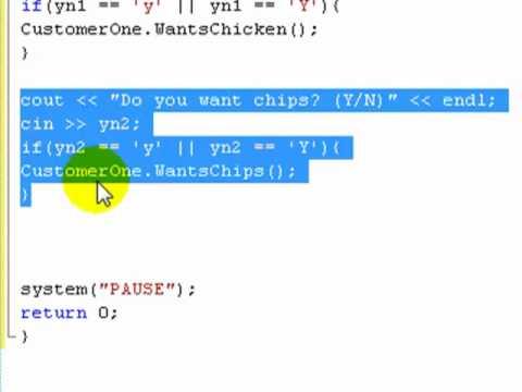C++ Tutorial 14: Class member functions