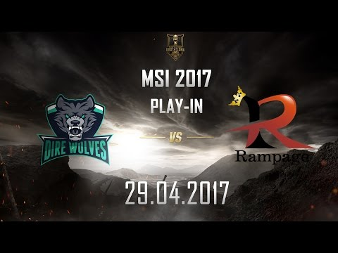 [29.04.2017] DW vs RPG [MSI 2017][Play-in]