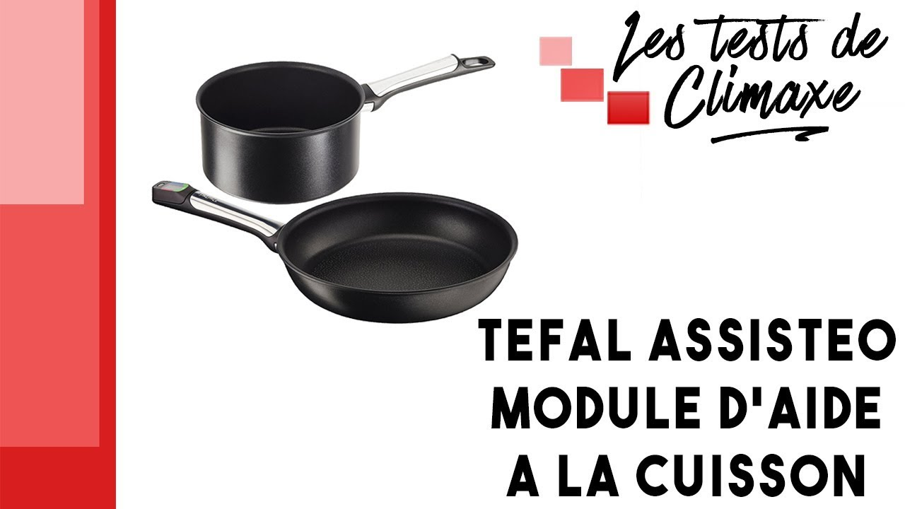 test d 39 un lot de casserole et po le tefal assisteo youtube. Black Bedroom Furniture Sets. Home Design Ideas