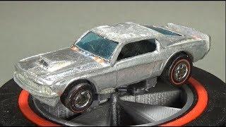 Redline Restoration: Hot Wheels 1976 Super Chrome Mustang Stocker