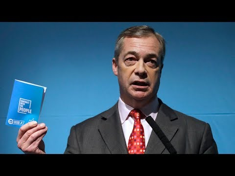 video: General Election 2019: Nigel Farage warns of UK 'population crisis' as he outlines migration cap - latest news