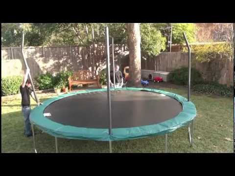 Orbounder Or1413 Trampoline Assembly Video Youtube
