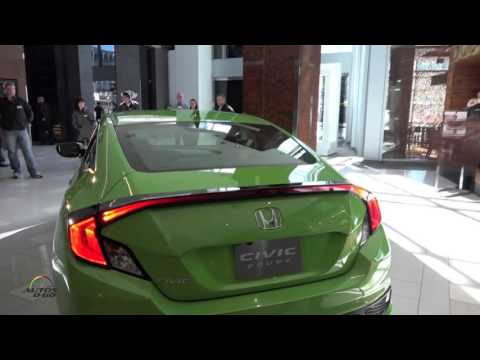 2016 Honda Civic Coupe walk around by Guy Melville-Brown