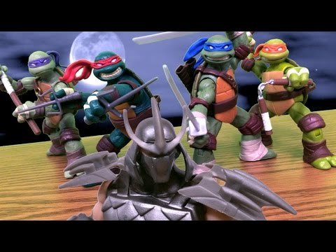 TMNT 2013 Stop Motion Season 1 Finale REMASTERED (60FPS!)
