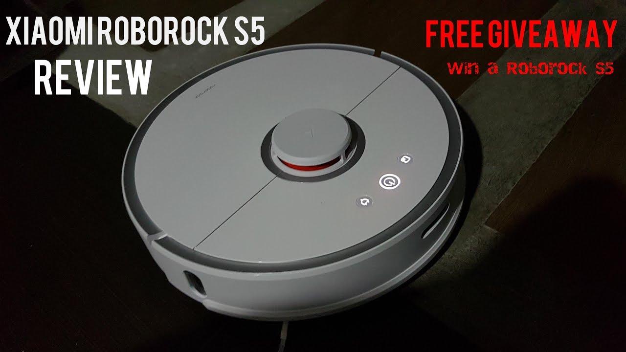 Roborock S5 Review: Xiaomi Robot Vacuum Second Generation - GIVEAWAY