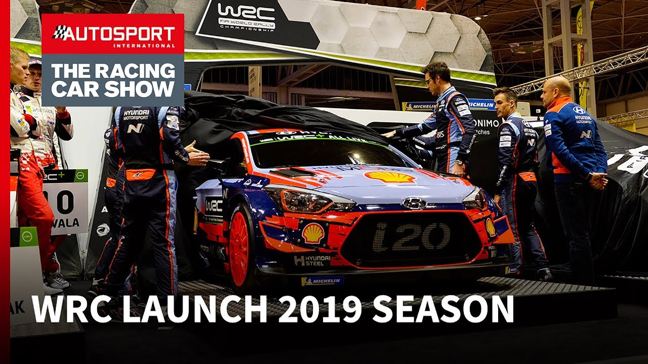 Wrc 2019 Launch At Autosport International Youtube