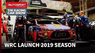 WRC 2019 launch at Autosport International
