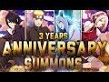 ** 3YRS ANNIVERSARY SUMMONS (LOOK AT THIS CARD ART OMG)  ** | ** Naruto Shinobi Collection *