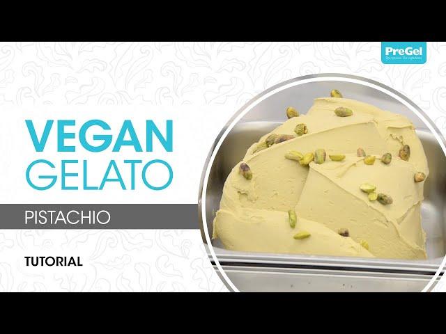 Vegan - Pistachio Gelato Tutorial