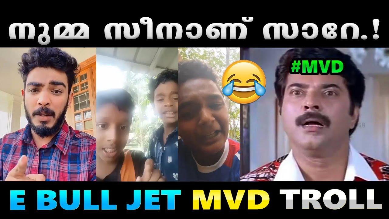 Download കേരളം കത്തിച്ചു കഴിഞ്ഞോ ആവോ.!! Troll Video   E Bull Jet MVD Troll   Albin Joshy