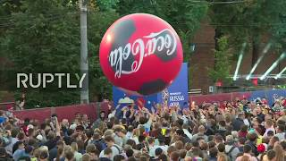 Live: Football fans watch Argentina v Croatia at FIFA Fan Fest in Nizhny Novgorod