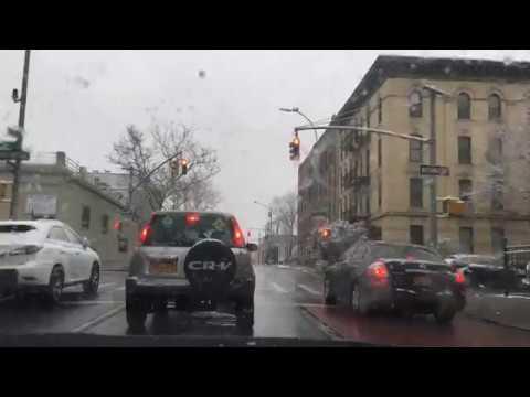 Driving from Brooklyn to Laguardia Airport (LGA) via Rogers / Bedford Avenue.