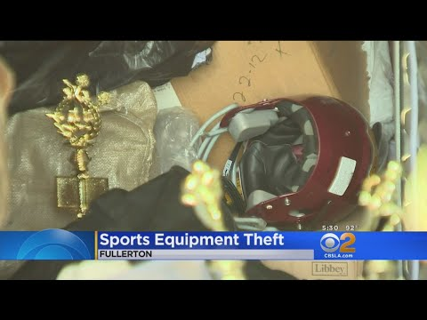 $6,500 Worth Of Equipment Stolen From Fullerton Youth Football Team