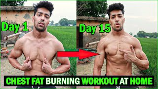 5 Min Home Workout for CHEST FAT | How to Reduce Chest Fat | Gynecomastia