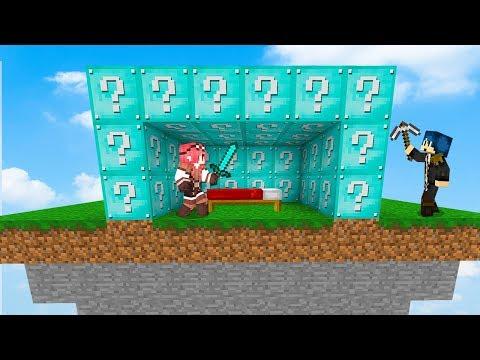 Minecraft ITA - LE BEDWARS CON I LUCKYBLOCK CELESTI!!