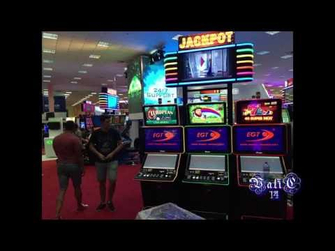 EGT - building stand - Bucharest Romexpo 2016 (gambling exhibition)