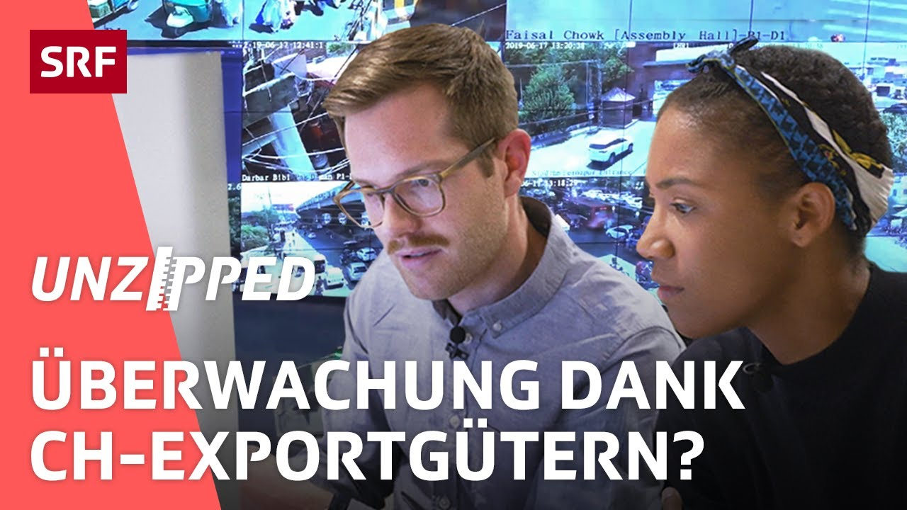 Repression mithilfe von Schweizer Überwachungsgeräten? | Unzipped | SRF Virus