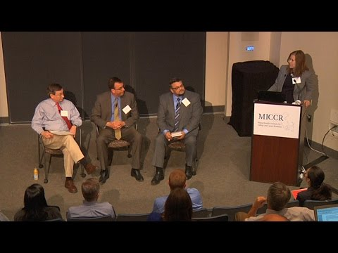 MICCR Conference: Panel Discussion on partnership and evidence-based practices