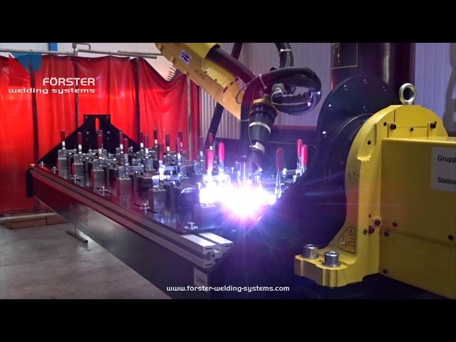 Roboter-Gehrung schweißen