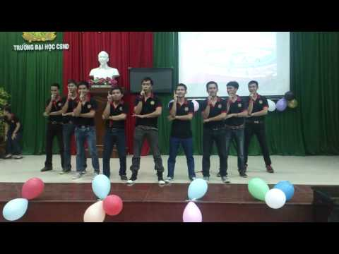 Liên khúc Flashmob Trống cơm - Gentleman - What makes you beautiful