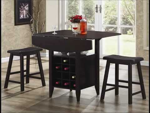 Furnish Your  Dining Room With Leather Furniture | dining room sets with leather chairs