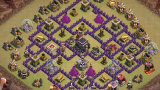 MOBA - Clash Of Clans - Attaque 100% sur HDV 9 #016 Gameplay (MOBAL Ballons Molosses )