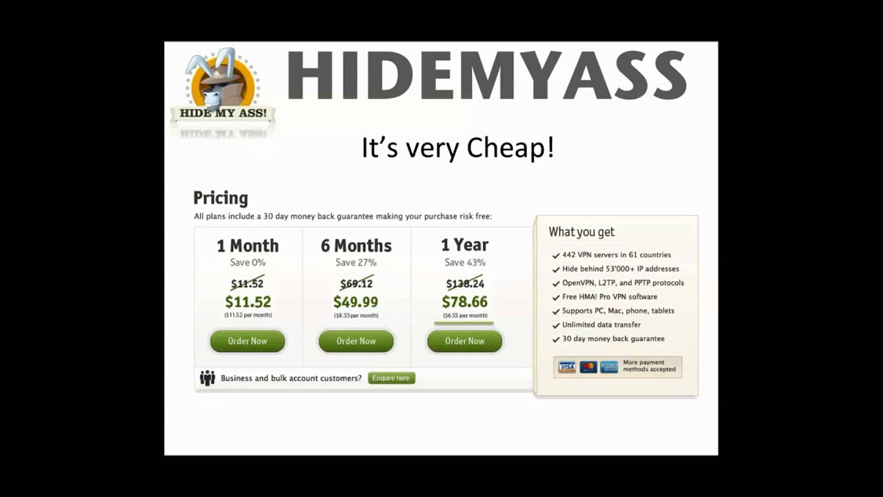 HideMyAss (HMA) Free Web Proxy Site Review