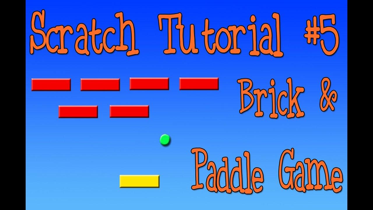 mrteacherkevin | Scratch Challenge #4: Brick and Paddle Game