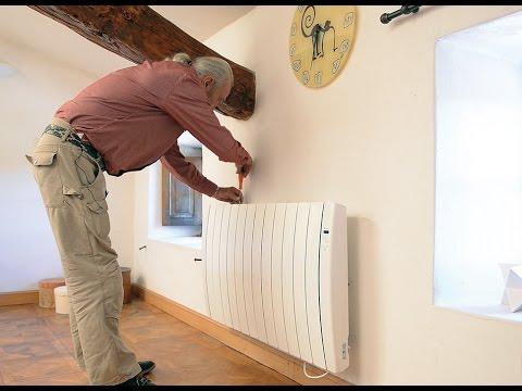 Installer Un Radiateur électrique à Chaleur Douce Fluide Caloporteur Bricolage Avec Robert