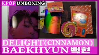 Unboxing BAEKHYUN [Delight] (CINNAMON Ver) 백현 2nd mini album…