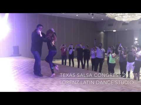 Chris Molina & Tara Gonczi at TEXAS SALSA CONGRESS