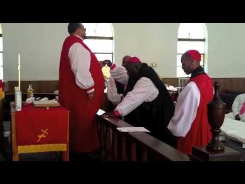 Bishop William E. McCoy II Consecration
