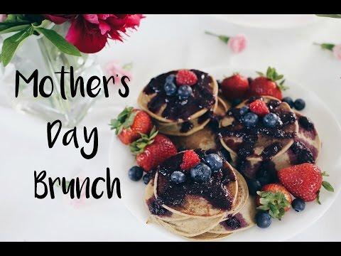 Healthy Pancake recipe | Vegan Mother's Day Brunch | (vegan and gluten-free pancakes)