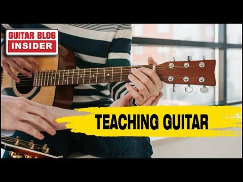 Teaching & Learning Guitar (Private Music Education)