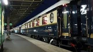 Le Train de luxe (VSOE) à Paris-Est
