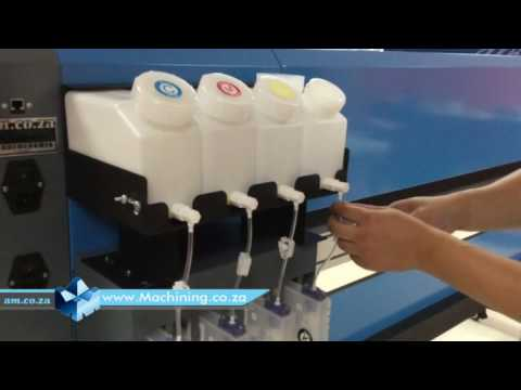FastCOLOUR Large Format Printer Unbox, Bulk Ink System, EPSON Printhead Installation and Setup Train