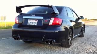 2011 Subaru STI Sedan Invidia Cat Back thumbnail
