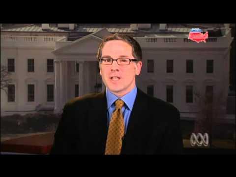 Daily Kos Radio host David Waldman talks filibuster on Australian TV