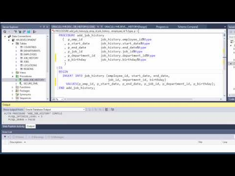 Oracle Developer Tools for Visual Studio