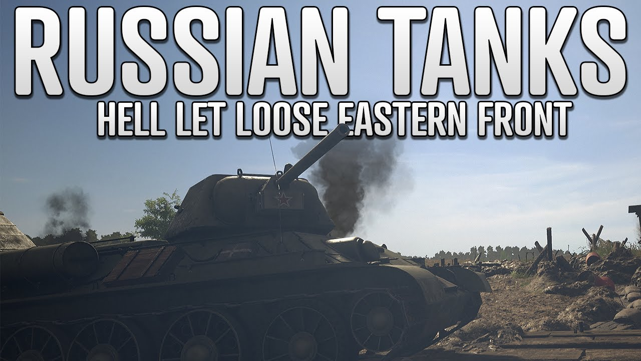 REALISTIC RUSSIAN TANK FIGHTS ON KURSK | Hell Let Loose Gameplay with FriendlyNikolai