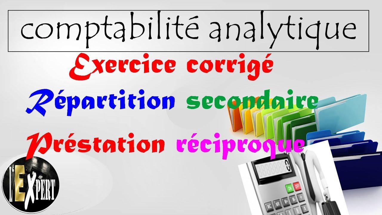 Comptabilité analytique : Exercice corrigé : la ...