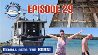 Ep 29 - Gemma Gets The Horn! More Copper Nails! Beaches & Boats!