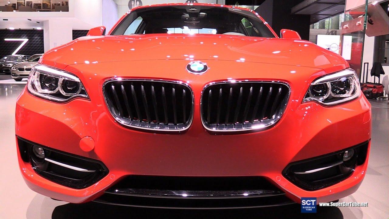 2017 bmw 230i xdrive coupe exterior and interior walkaround 2016 la auto show youtube