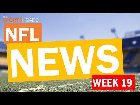 The SportsHeads   NFL Week 19: News & Catch Up